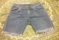 """WOMEN'S JUNIOR'S LOW WAISTED STAGE COACH MISS SIXTY JEAN SHORTS SIZE 26"""""""
