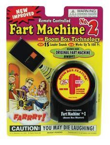 Remote Control Fart Machine Prank Joke Sound Effect
