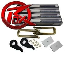 """For 01-10 Chevy 1500 2500 3500HD 3"""" Front 2"""" Rear Lift Kit ProComp Shocks 8Lug"""