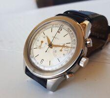 Rare Vintage Chronograph Watch Zenith 156 D Manual Wind