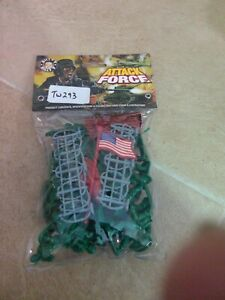 """TW293 Billy V Toy Soldiers """"Attack Force"""" army men American 54mm imx41050 WW2"""