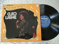 "Cleo Laine ‎– ""Spotlight On Cleo Laine"" UK Import  LP  Philips ‎– 6625 008"