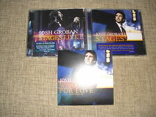 JOSH GROBAN - STAGES LIVE + STAGES + WHAT I DID... - 4xCD/DVD SET incl. DJ PROMO