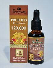 EVERGREEN PROPOLIS TINCTURE 1.05OZ PTF 480 MADE IN NEW ZEALAND