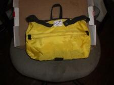 Vintage NOS Cannondale BUGGER Handlebar Bike Bag Yellow Nylon Lightweight