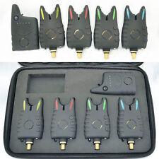 1+4 Wireless Fishing Bite Alarm Set Carp Fishing Alarm Indicator Receiver