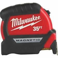 Milwaukee 48-22-0335 35' Compact Wide Blade Anti-Tear Magnetic Tape Measure
