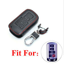 6 Buttons PU Leather Smart Remote Key Fob Bag Cover Case Fit Toyota Sienna 11-18