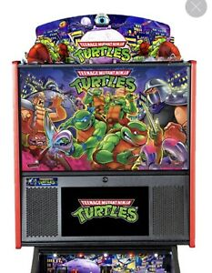 New Teenage Mutant Ninja Turtles - TMNT - Stern Pinball Topper - FREE SHIPPING