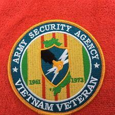 Us Army Security Agency Vietnam Veteran Patch