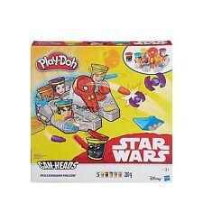 Play-doh Halcón Milenario Star Wars con cabezas de juguetes para niños masa puede -