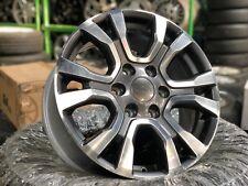 Genuine Used 18 inch Ford Ranger Wildtrak Wheel (Set of 4) 6x139.7 Gun Metal