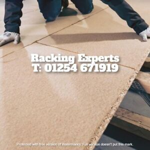 New Tongue & Groove Chipboard Wood Flooring 2400mm X 600mm x 38mm Thickness