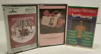 Cassettes Tapes Mixed Lot Of 3 The Statler Brothers Bing Crosbys A Country Xmas