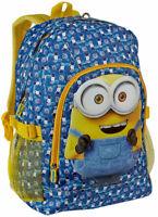 Zaino Minions Ragazzo Boy Backpack Big school Bag Unisex Uomo Donna