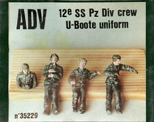 ADV AZIMUT PRODUCTION 35229 - 12e SS Pz Div CREW U-BOOT UNIFORM - 1/35 RESIN KIT