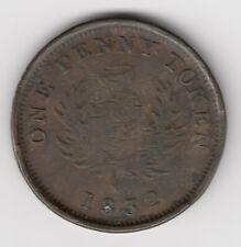 Province of Nova Scotia - Br 870, CH NS-4A2, 1832 Penny - EF Condition