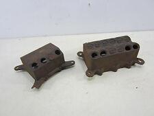 2 Vintage Cast Iron Electrical Boxes- Renim & Economy