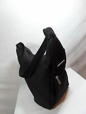 KIPLING BLACK SLING HANDBAG PURSE TOTE SHOPPER SPACIOUS ENOUGH FOR A BOOK BAG