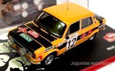 1/43 SEAT 124D S1800 ZANINI PETISCO 1977 RALLY MONTECARLO  IXO ALTAYA