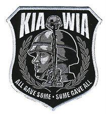 MILITARY VETERAN KIA WIA PATCH P3652 war patches vets jacket iron on men women