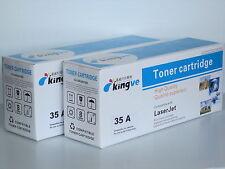 2PK Compatible Laser Toner for HP 35A CB435A  fits P1002 P1003 P1004