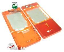 Sony ERICSSON w880 W 880i Cellulare Cover Case Guscio Arancione
