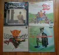 Lot of 4 Original Soundtrack OST LPs Paper Tiger Strange One Johnny Johnson