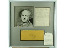 """""""Three Stooges"""" Larry Fine Signed Letter With Env. Lot 152"""