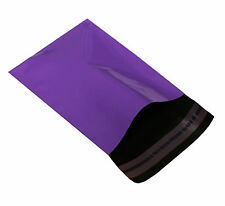 200 PURPLE MAILING MAIL POST POSTAGE BAGS SMALL 170 x 230mm