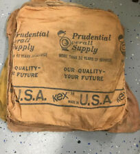 Prudential Overall Supply Vintage Shop Towels Rags Lot Of 20