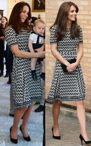 TORY BURCH Paulina Open Knit Dress Size S Small