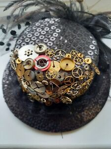 Steam Punk Inspired Fascinator Hat