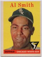 1958 Topps #177 Al Smith Near Mint or better Chicago White Sox FREE SHIPPING