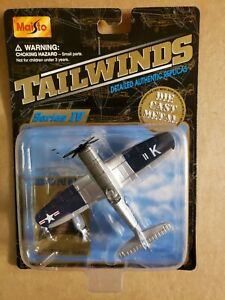 Maisto Tailwinds F4U-4 Corsair Navy Reserves with Collectors Stand