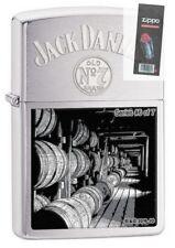 Zippo 29178 Jack Daniel's Scenes Limited #6 of 7 Chrome Lighter + FLINT PACK