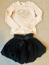 Girls Top And Skirt Size 5