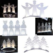 Elegante Diseño LED Acrílico Fenster-Leuchte Decoración de Navidad Iluminado