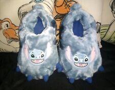 Disneyland Paris Stitch Monster Feet Slippers UK 7/8 RARE Park Exclusive