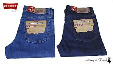 Jeans Uomo Carrera Art.700 Regular Denim 5 tasche 3 colori Blu scuro 52