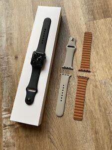 Apple Watch Series 3 38mm Space Grey Black Sport (GPS)