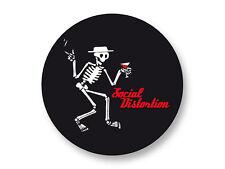Pin Button Badge Ø38mm Logo Social Distortion Groupe Band Punk Rock