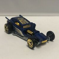 Hot Wheels Blue Fangula Mystery 1:64 Scale Diecast Toy Car Model Mattel