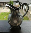 Art Nouveau Jugendstil B.BOHRMANN FRANKFURT Silver Plate Milk Jug