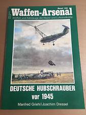 WAFFEN-ARSENAL BAND 128 - DEUTSCHE HUBSCHRAUBER VOR 1945