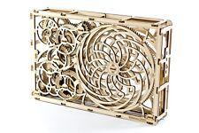 Natale IDEA foto Nuovo di Zecca Cinetico-città in legno 3D modello meccanico in legno