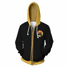 Karate Kid Val Armorr 3D hoodie Sweatshirt Cosplay Costume zip up coat jacket
