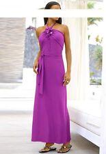 Alba Moda Damen Strandkleid Pink 46