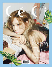 CECI ANOTHER MAGAZINE 2016 SEPTEMBER TAEYEON GIRLS' GENERATION CLIPPINGS PAGE
