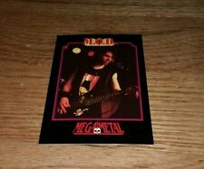M.O.D. Method Of Destruction Vintage Trading Card JOHN MONTE 1991 Thrash Metal